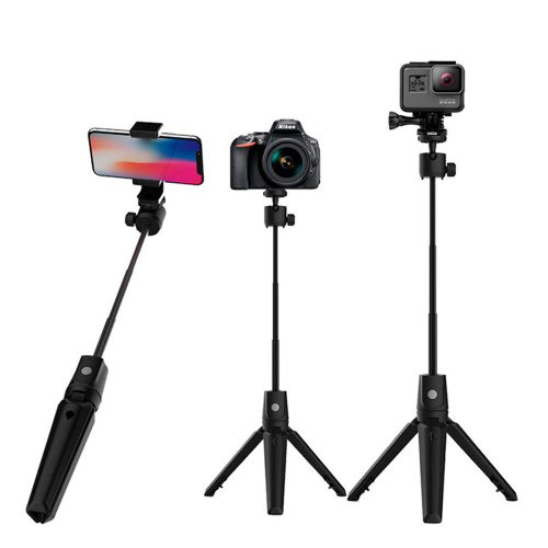 K20 selfie stick integrated tripod